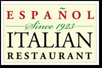 Espanol Italian Restaurant Logo