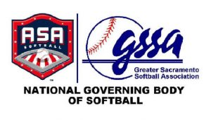 Greater Sacramento Softball Association Logo